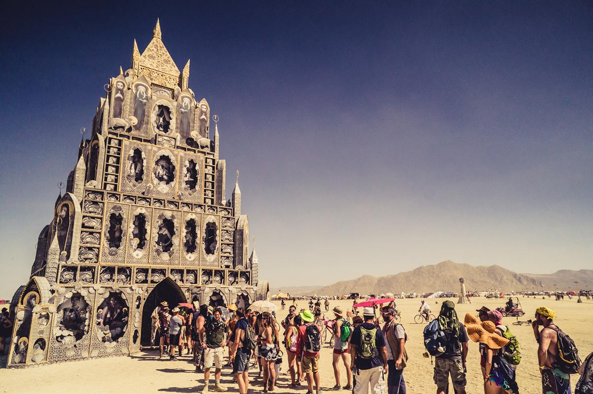 Burning Man - A temple