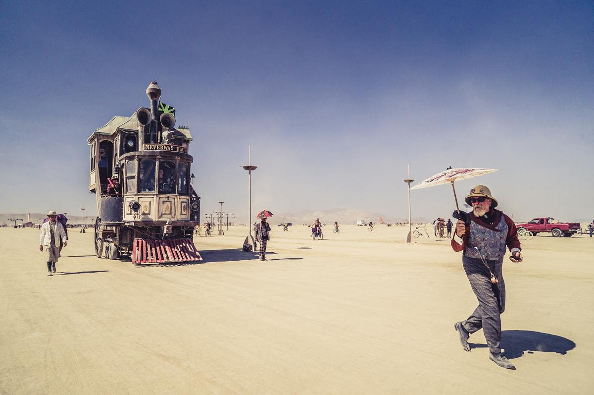 Burning Man - Home train