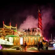Burning Man - Art car on the playa