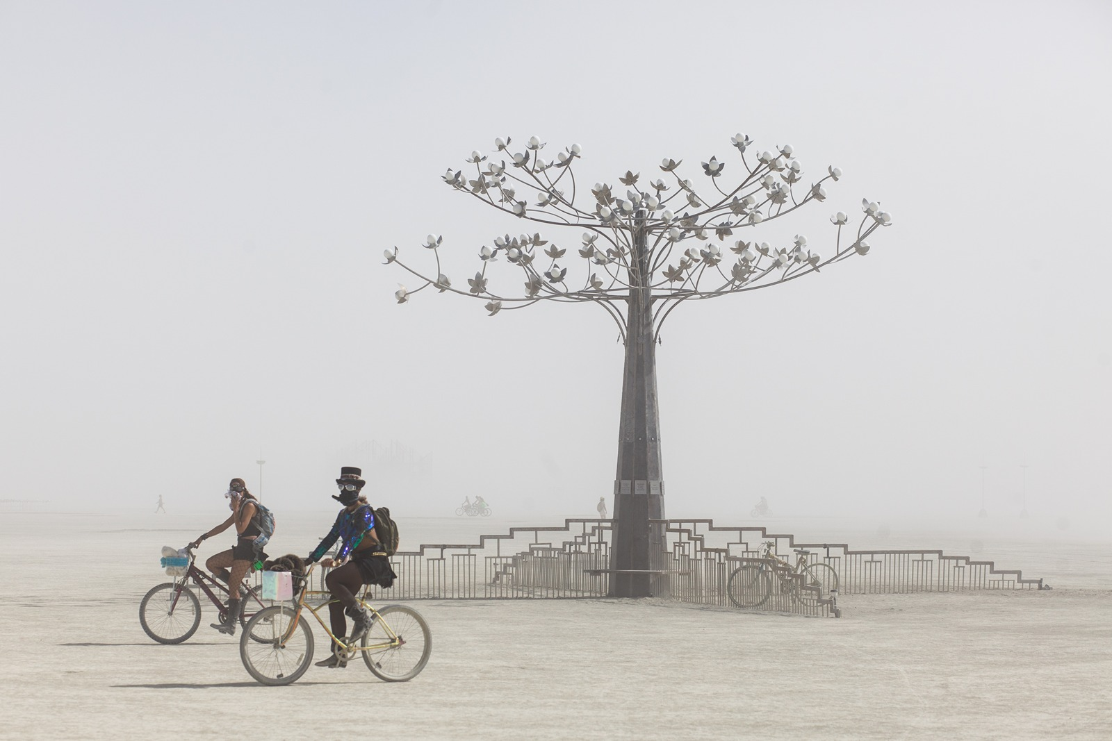 Burning Man - The tree
