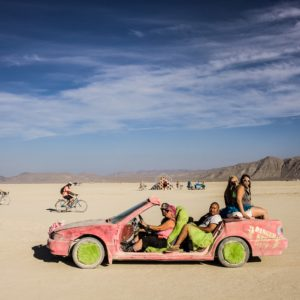 Burning Man - Barbie car