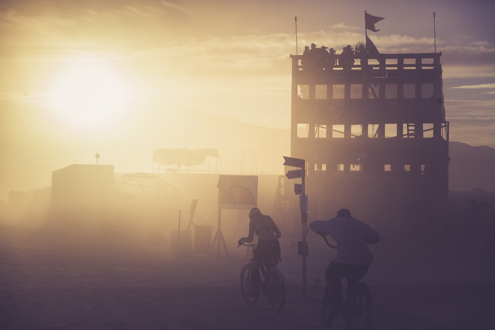 Burning Man - Sandstorm