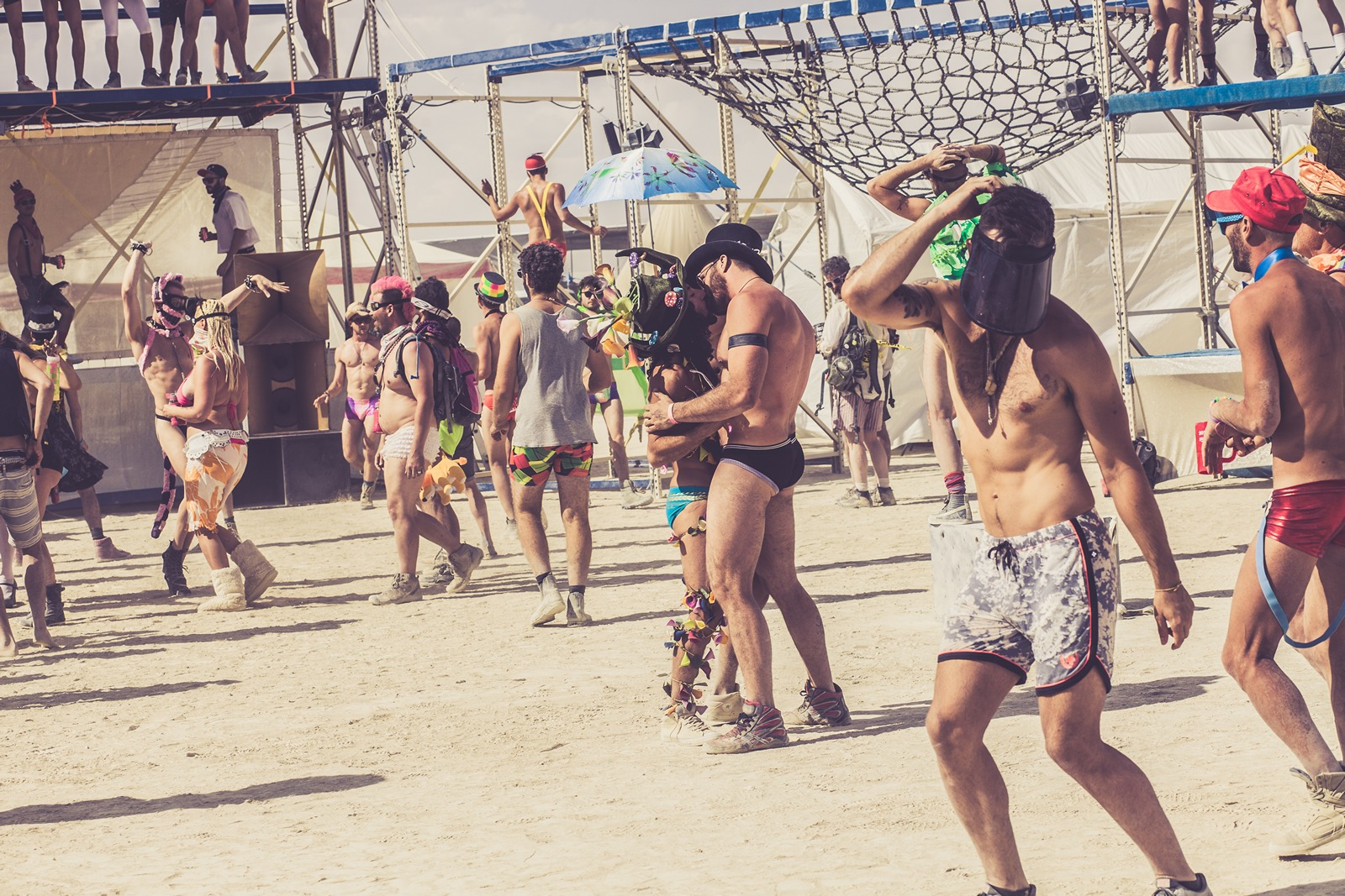 Burning Man - Dancing