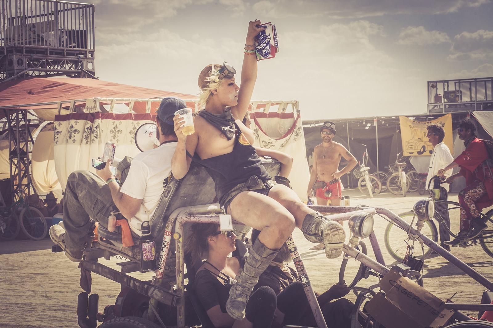 Burning Man - I love beer