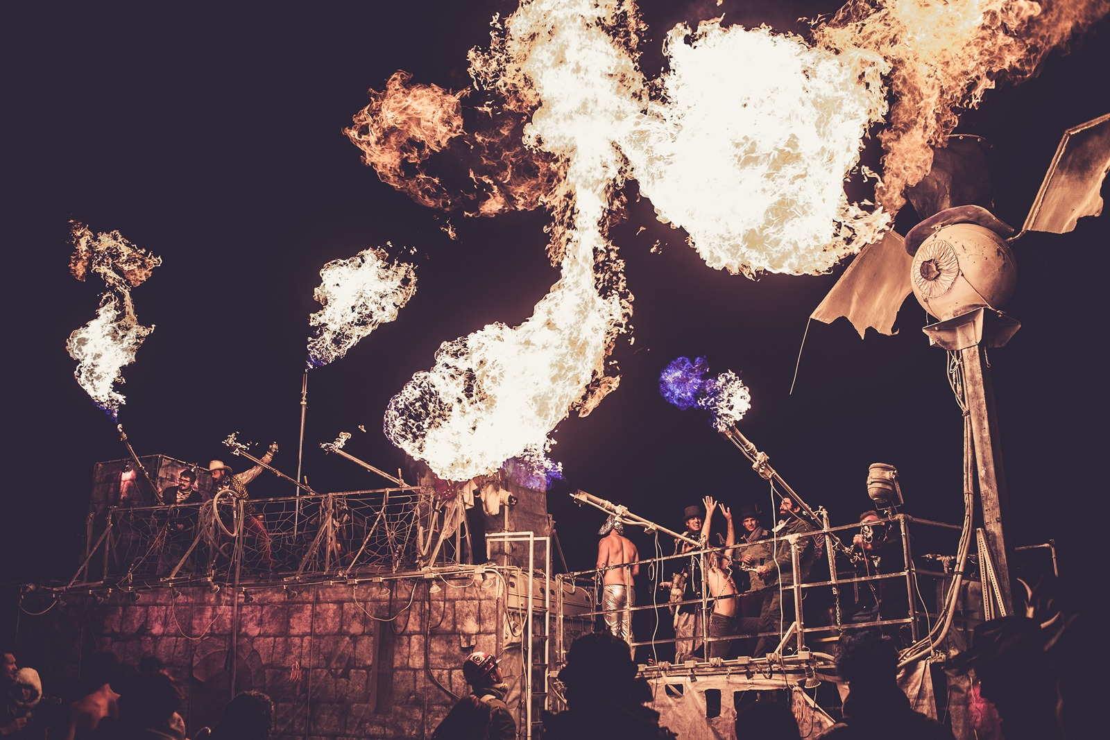 Burning Man - Playing with fire