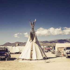 Burning Man - Tepee