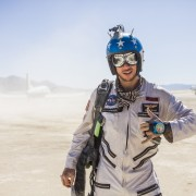Burning Man - American skydiver