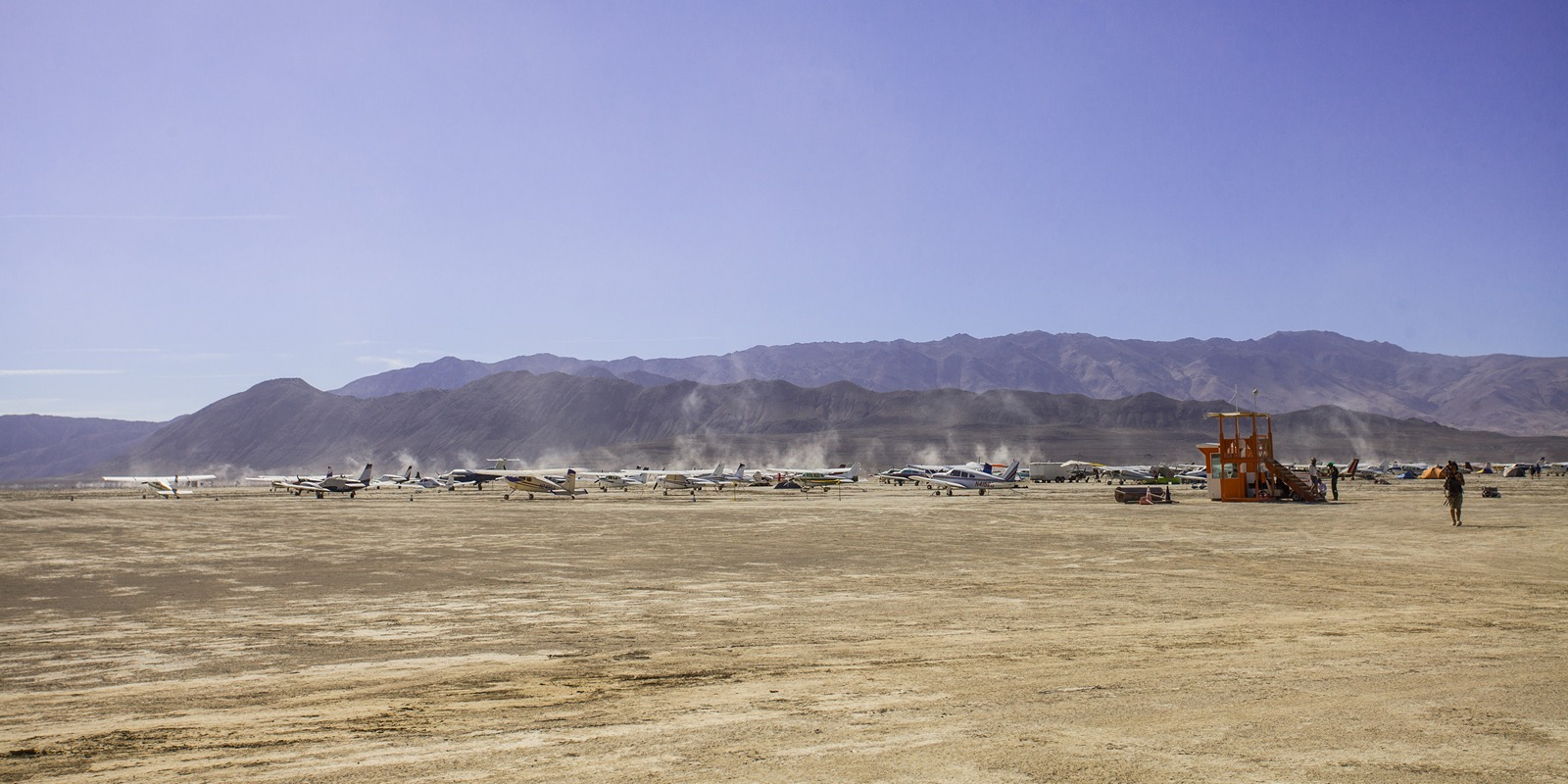 Burning Man - Black Rock City airport