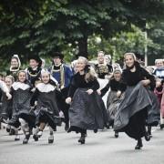 Photographe Paris - Serie Bretagne - Festival de Cornouaille - La course des enfants