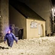 Photographe Paris Quimper - Serie Bretagne - Saint-Guénolé Penmarch - La neige de la mer