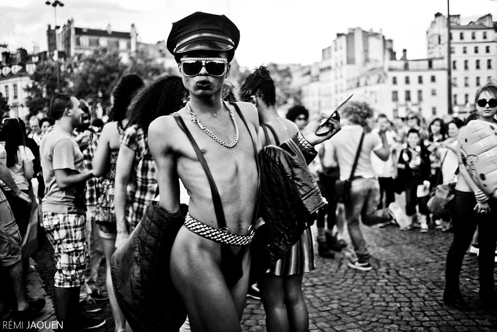 Photographe Paris - Serie People of Paris - Gaypride
