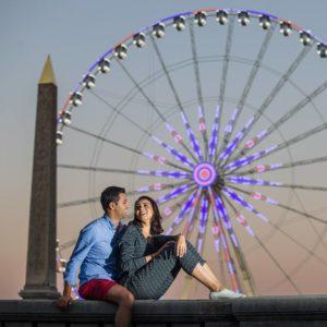 seance photo couple paris shooting