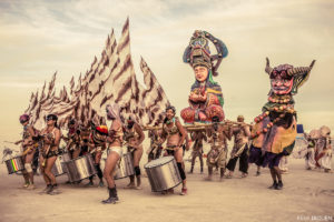 Burning Man - The procession