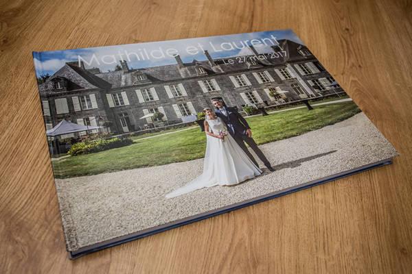 Photographe mariage Quimper livre photo
