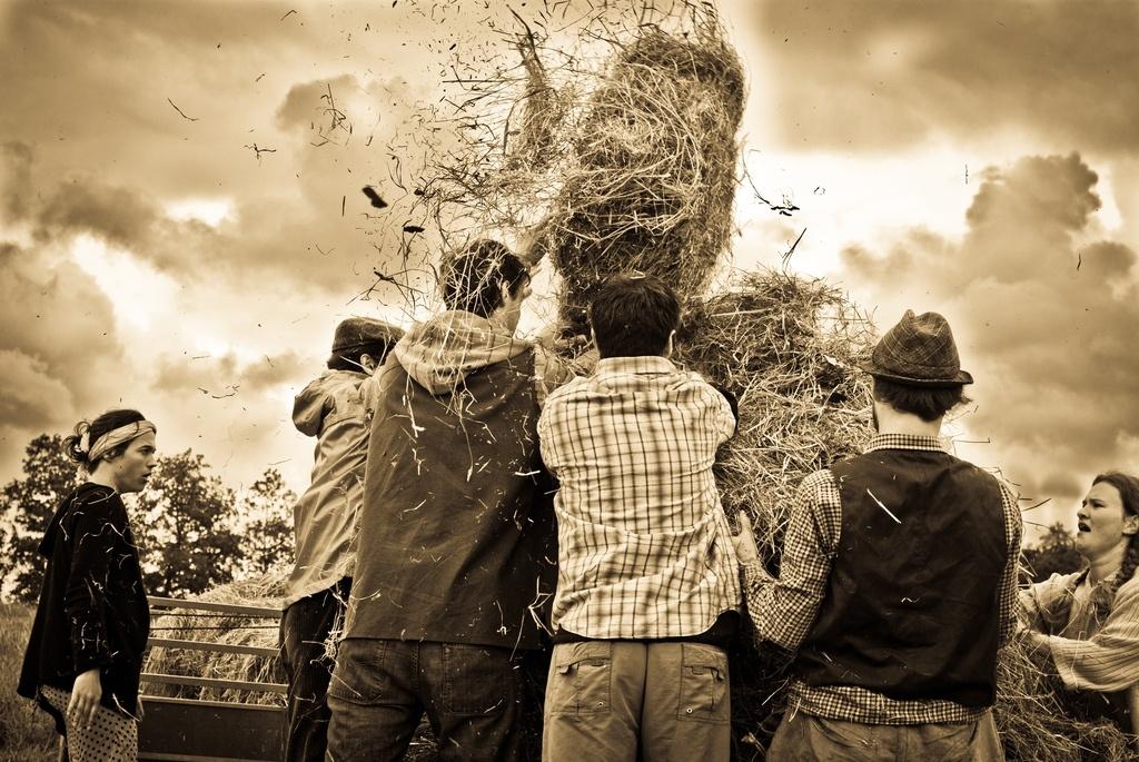 Reportage photo de la boue sur les sabots 2011