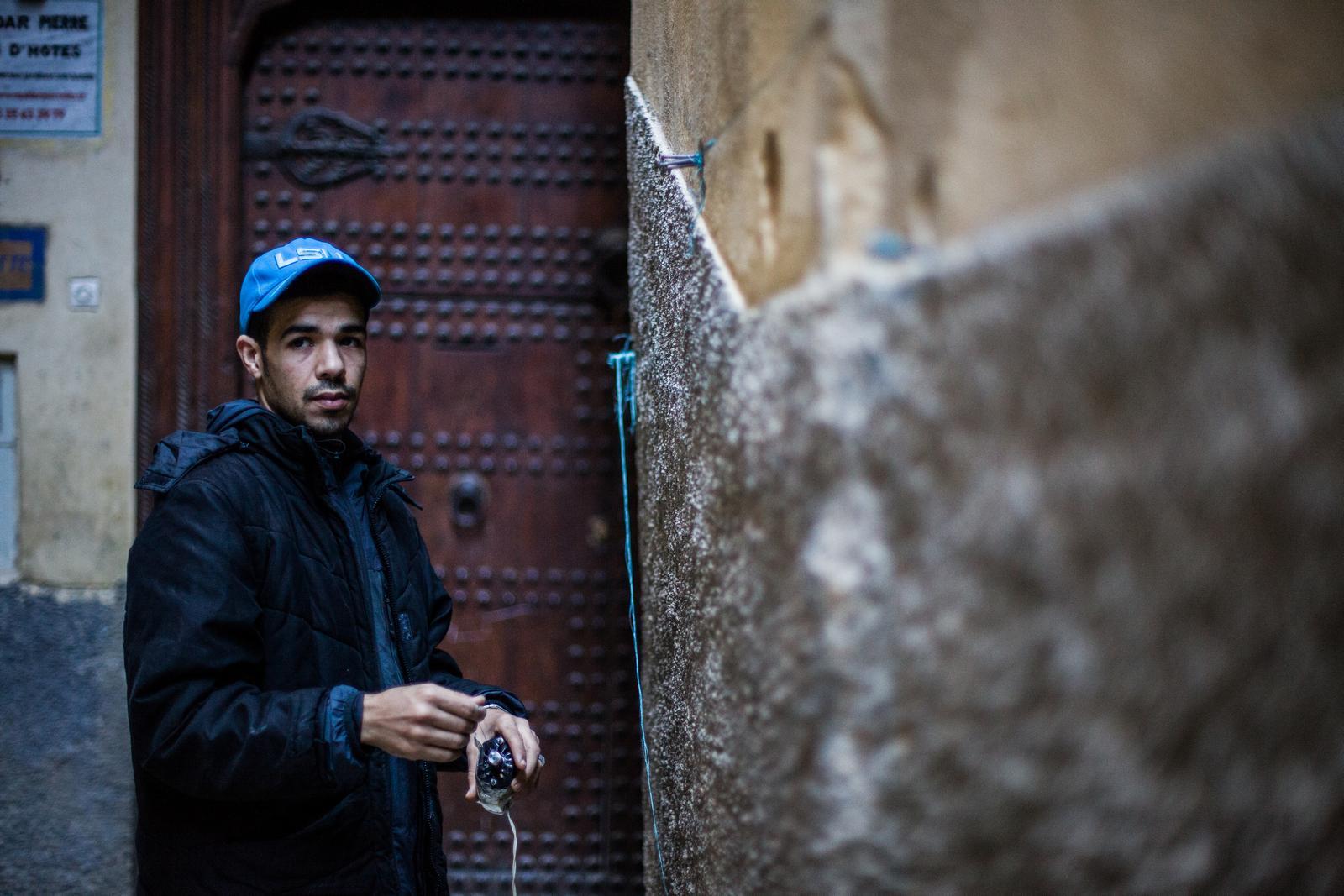 Medina de Fes Maroc, tanneurs - Rémi Jaouen photographe Paris