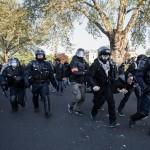 Photographe Paris - Affrontements CRS place de la Nation 1er mai
