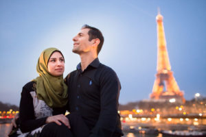 couple photoshoot paris honeymoom wedding photographer