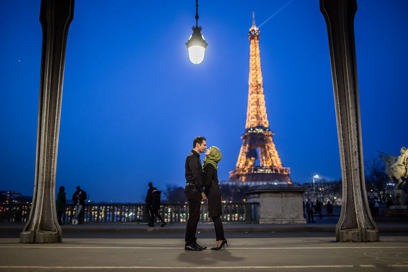 Couple Photoshoot Paris