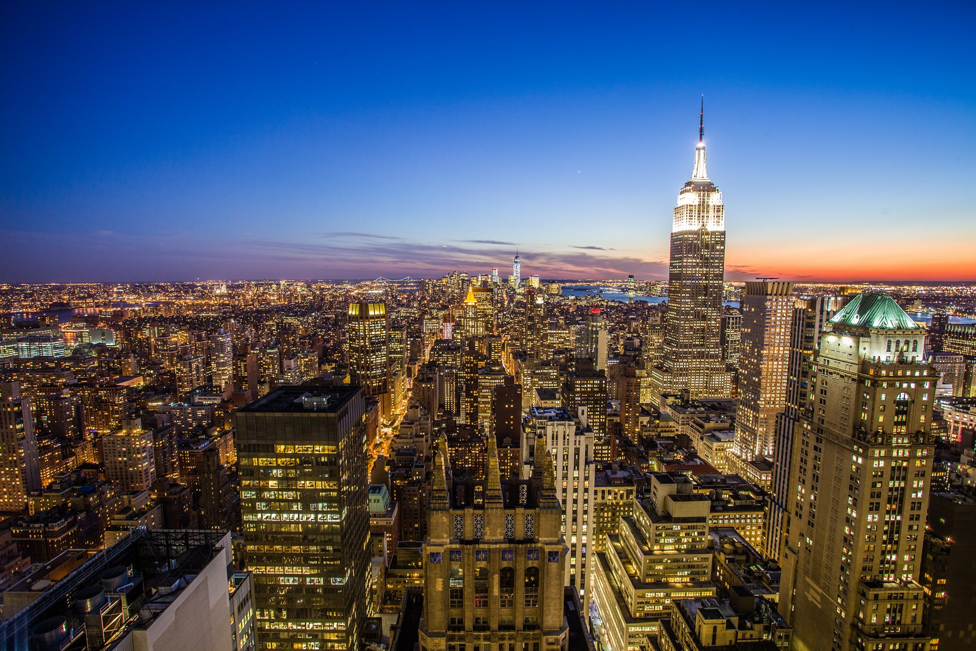 Photographer Paris - Serie Travel - New York - View of Manhattan and the Empire State Builing