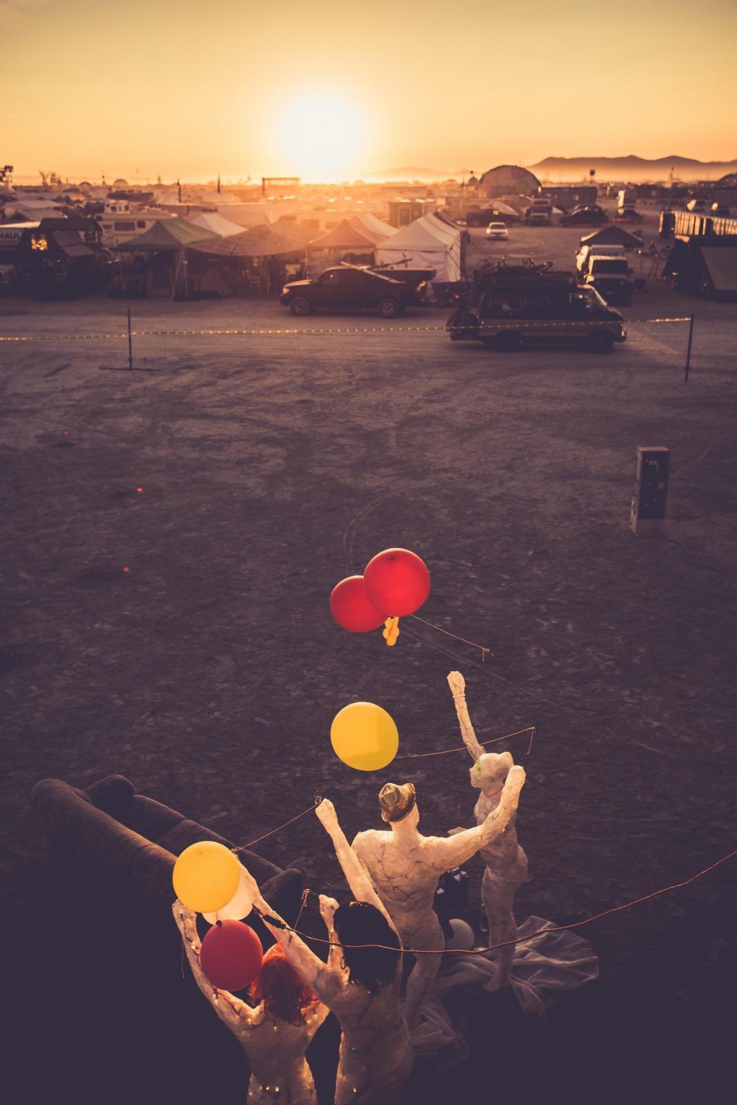 Burning Man - The day starts