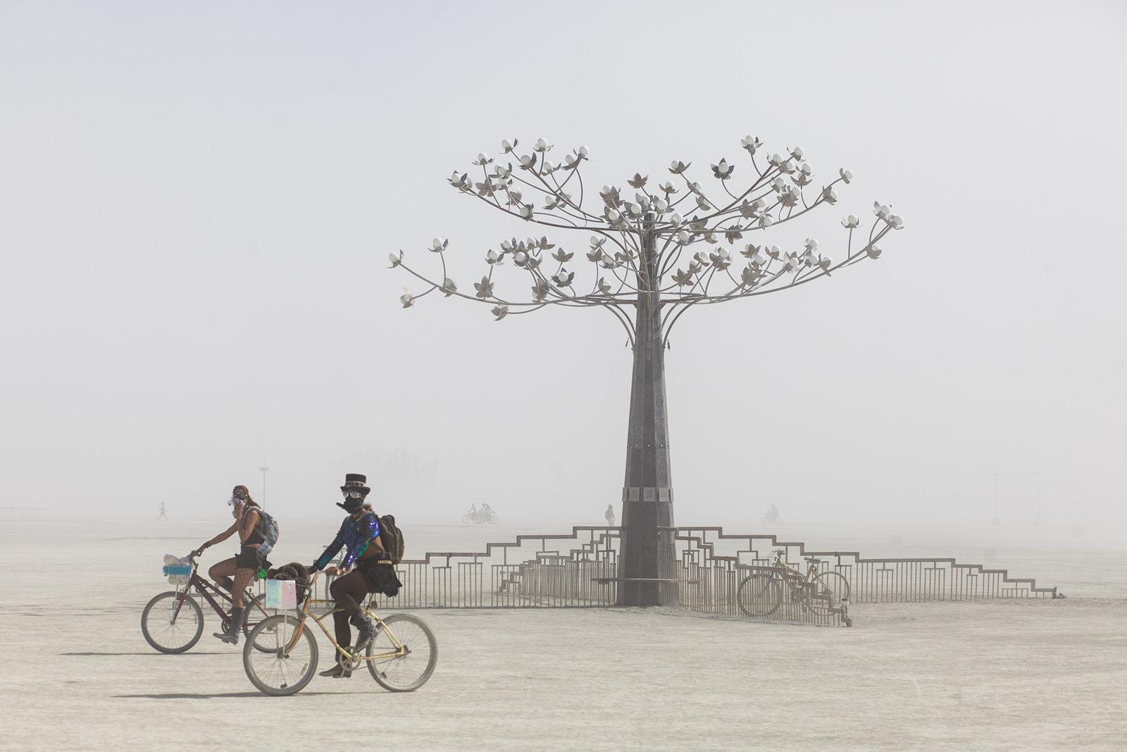 Burning Man - The tree
