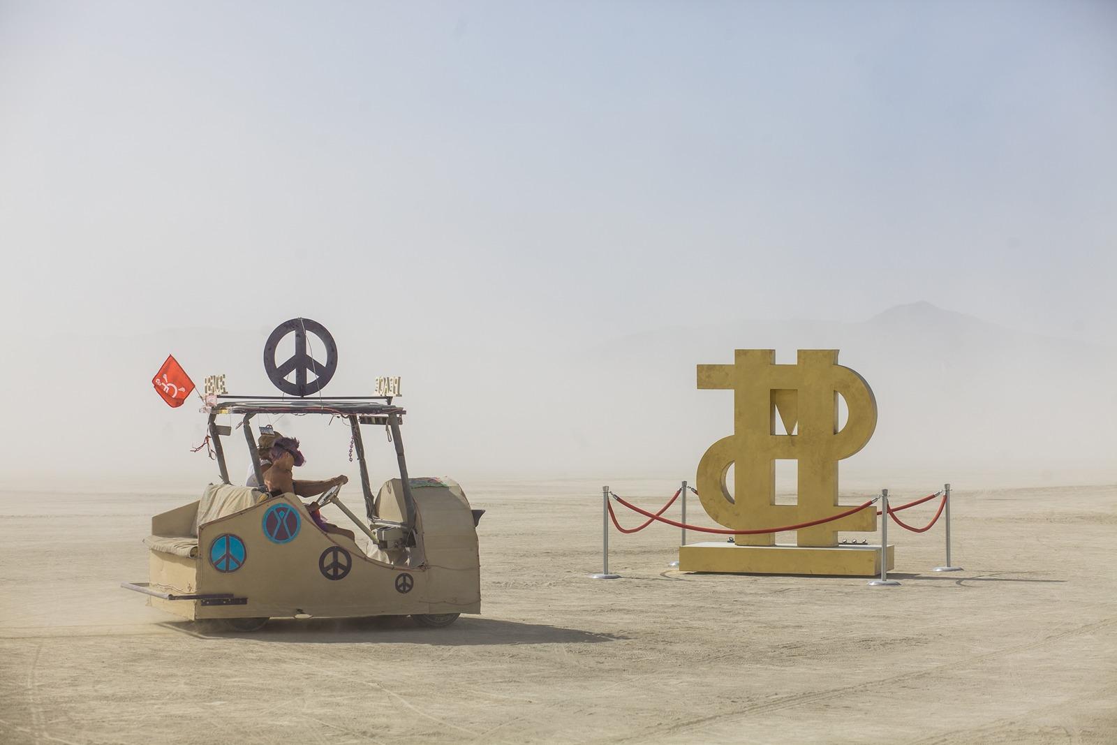 Burning Man - Anarchist dollar