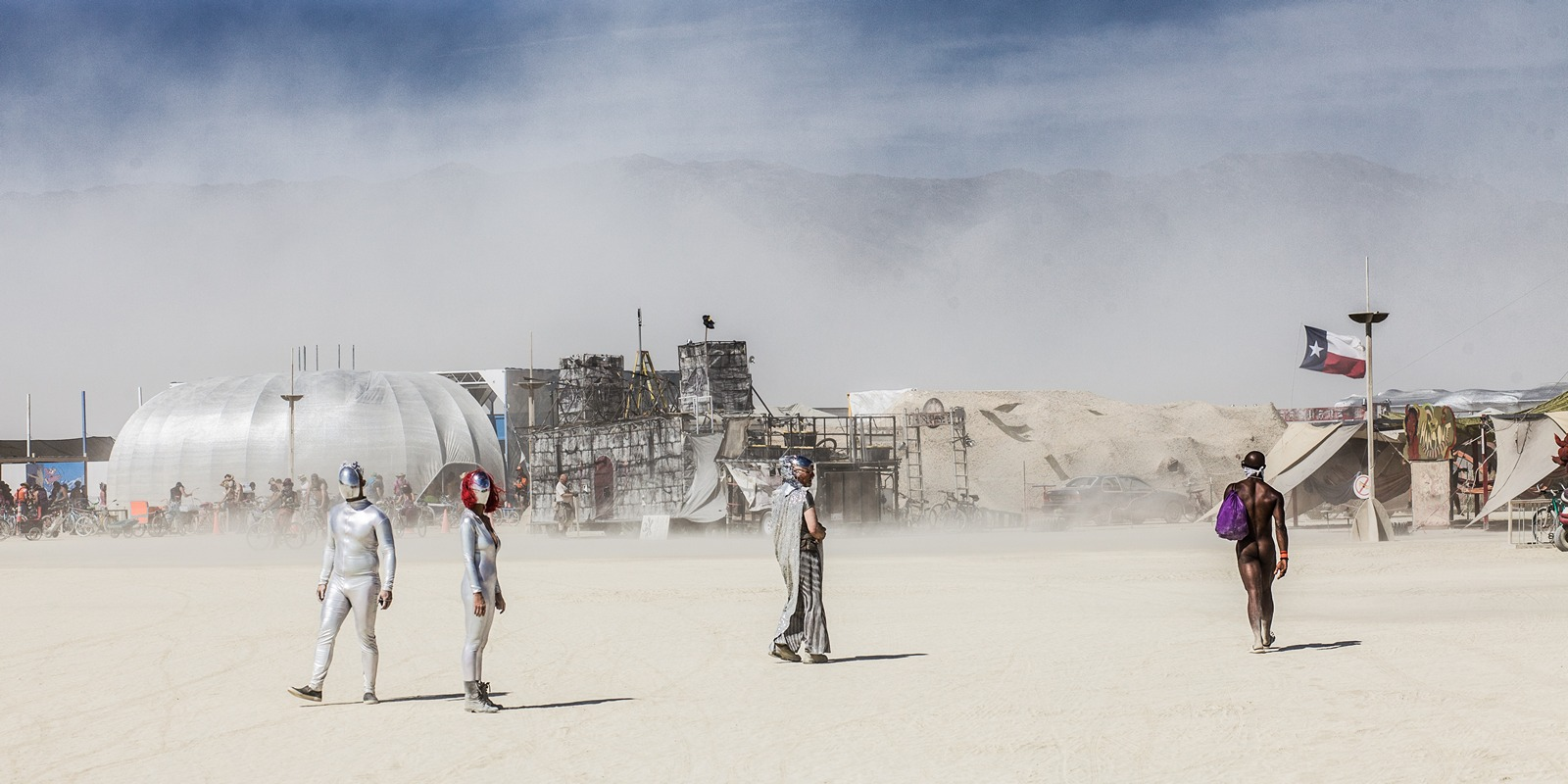 Burning Man - Another planet