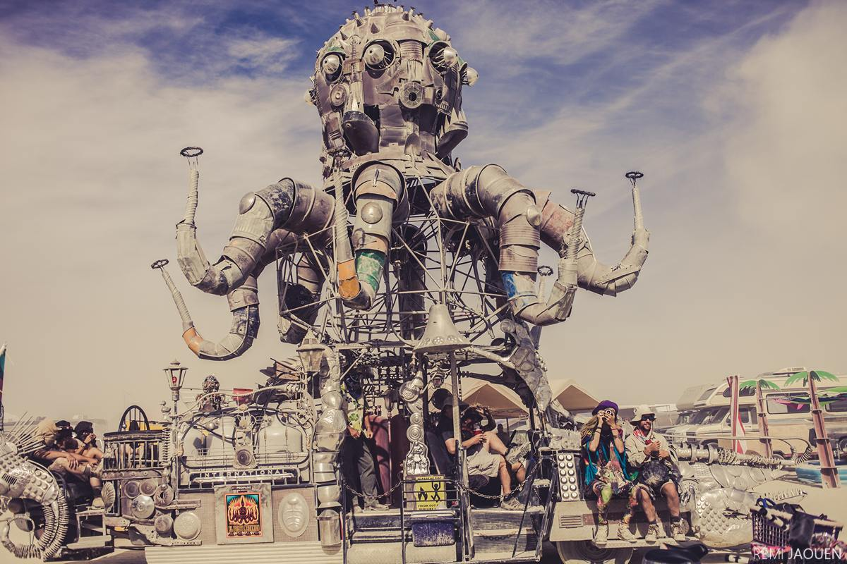 Burning Man - Pulpo Mecanico