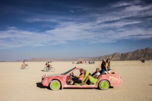 Burning Man - Barbie car