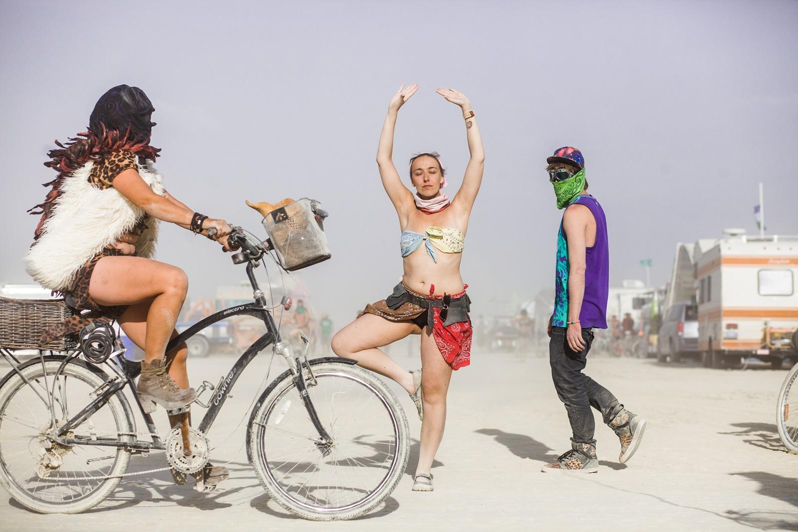 Burning Man - Yoga