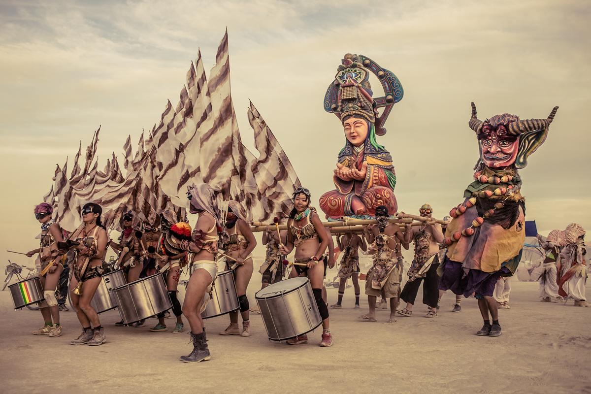 Burning Man - Procession
