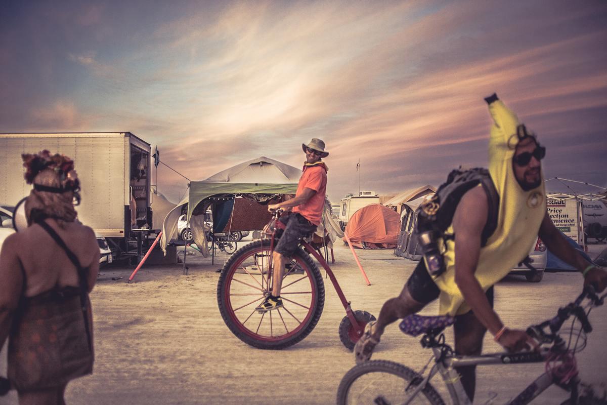 Burning Man - Banana