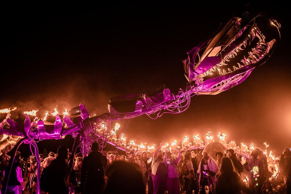 Burning Man - Dragon