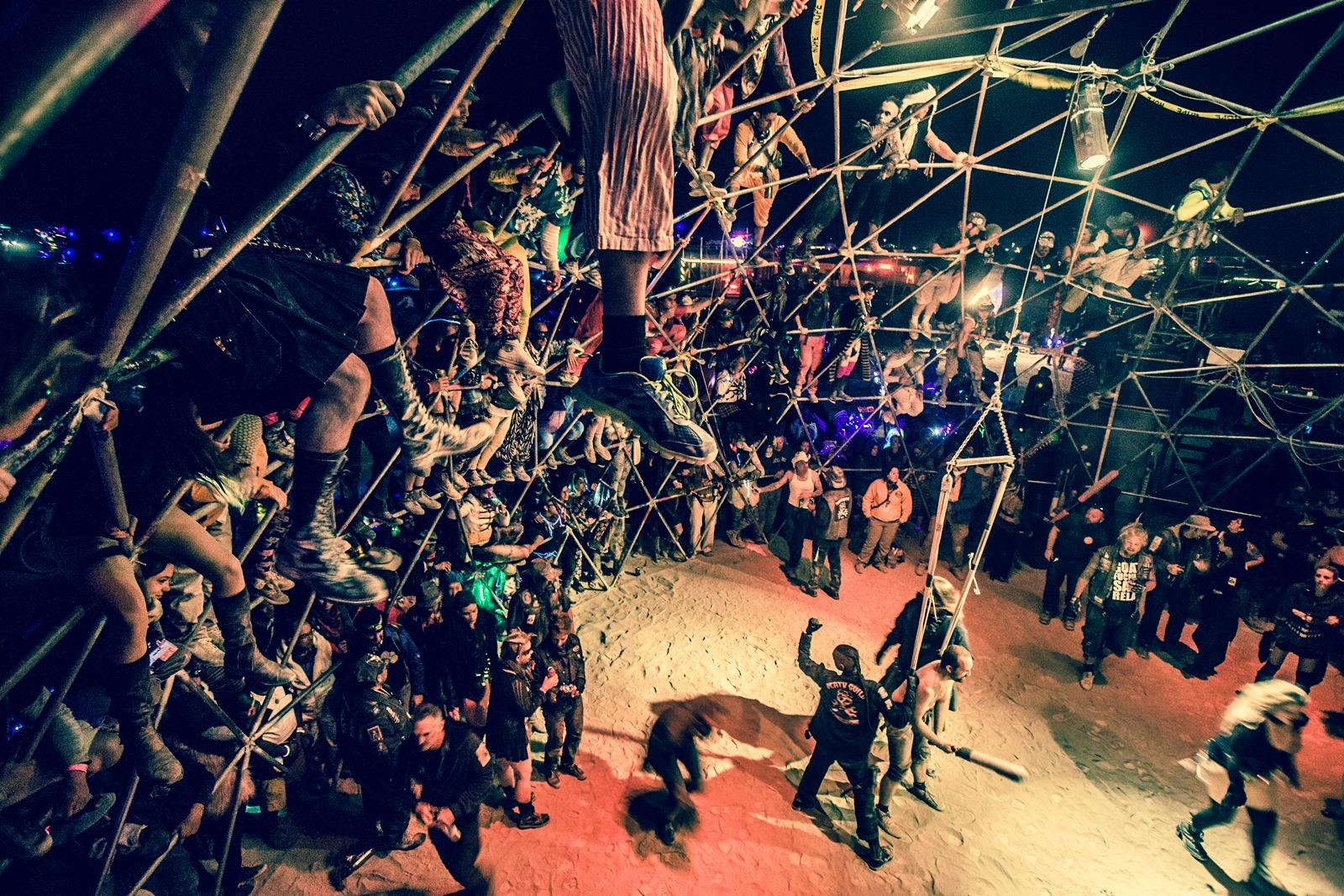 Burning Man - Thunderdome 3