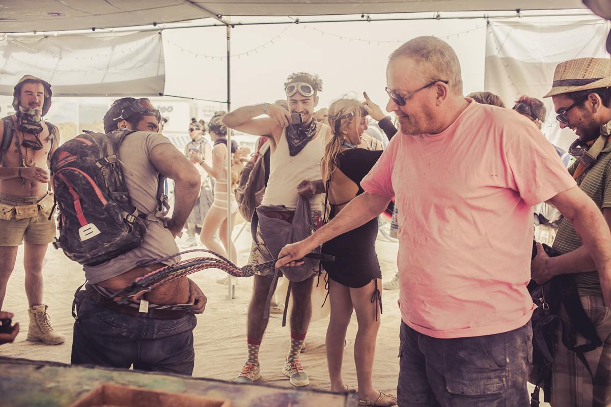 Burning Man - Outch