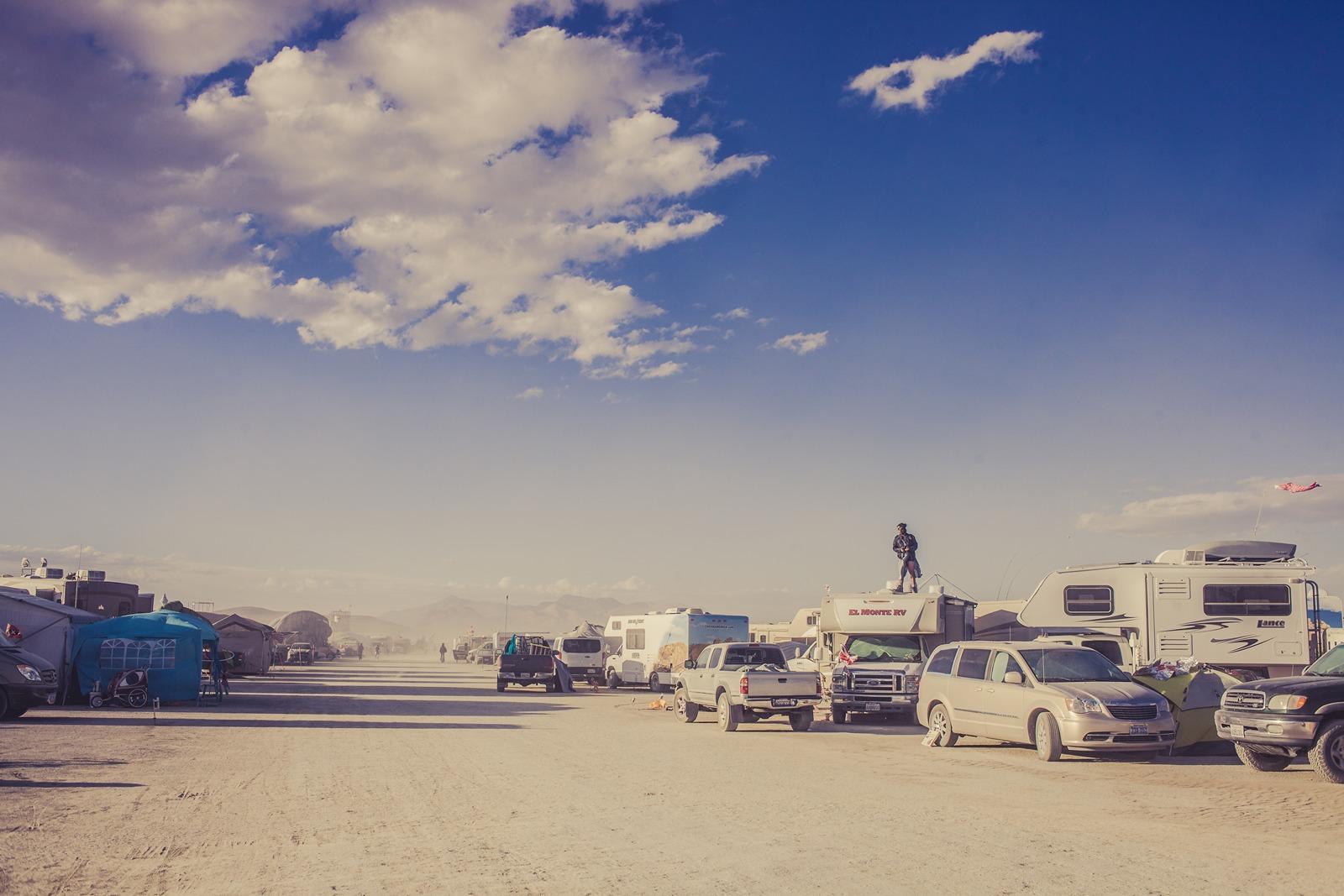Burning Man - Nice weather