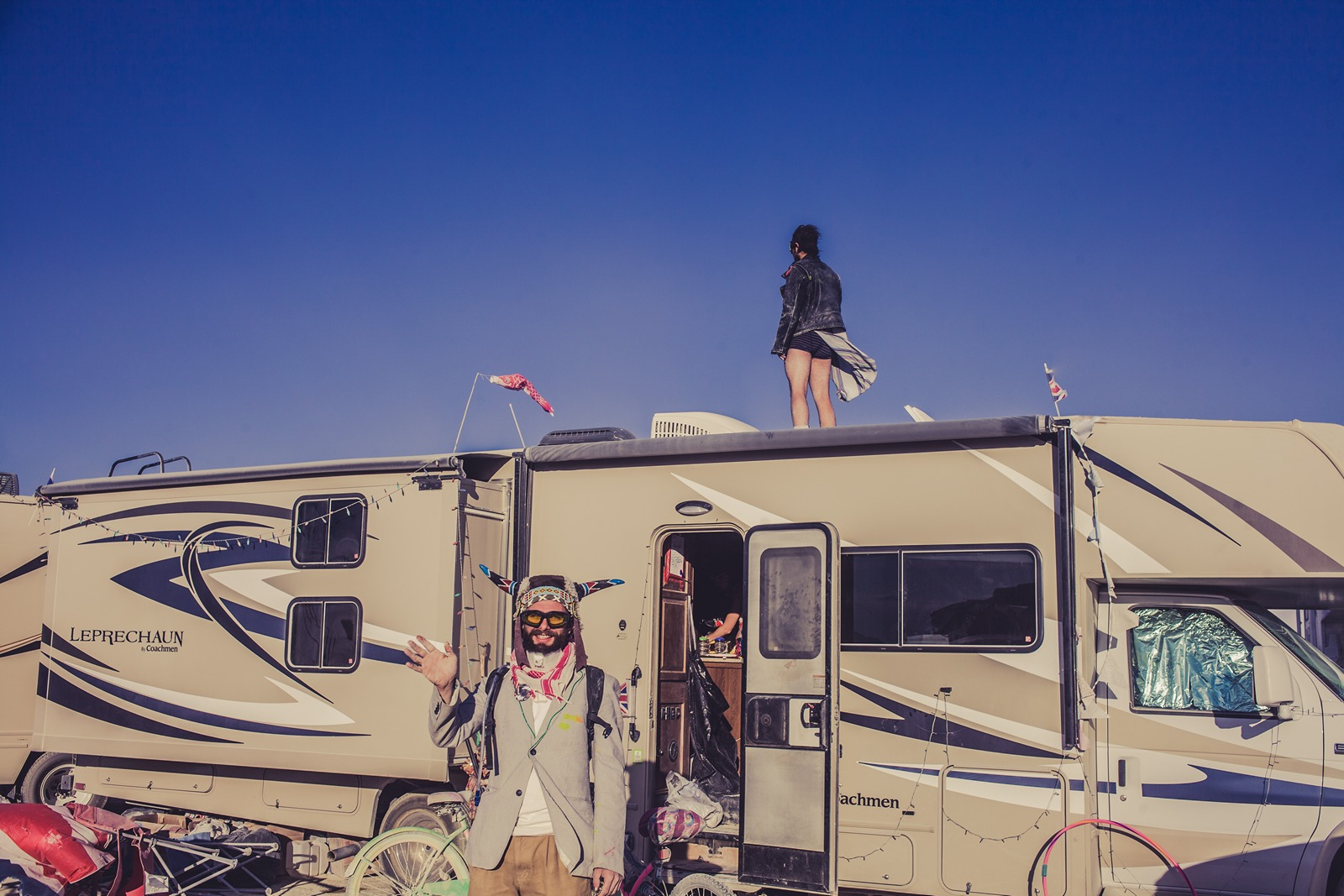 Burning Man - Say Hi