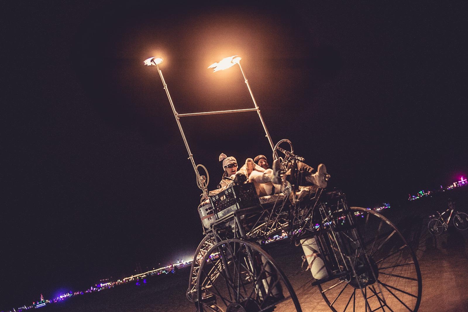 Burning Man - Great vehicule
