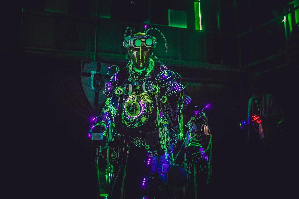 Burning Man - The human robot
