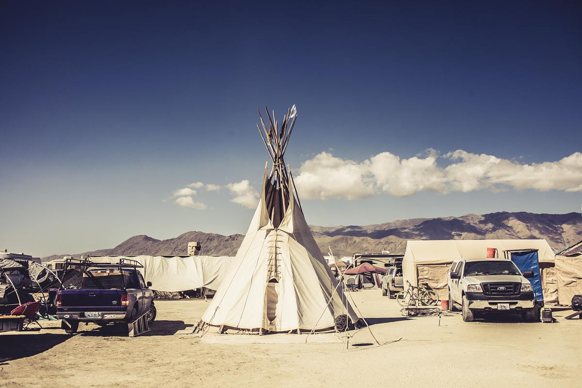 Burning Man - Tepee