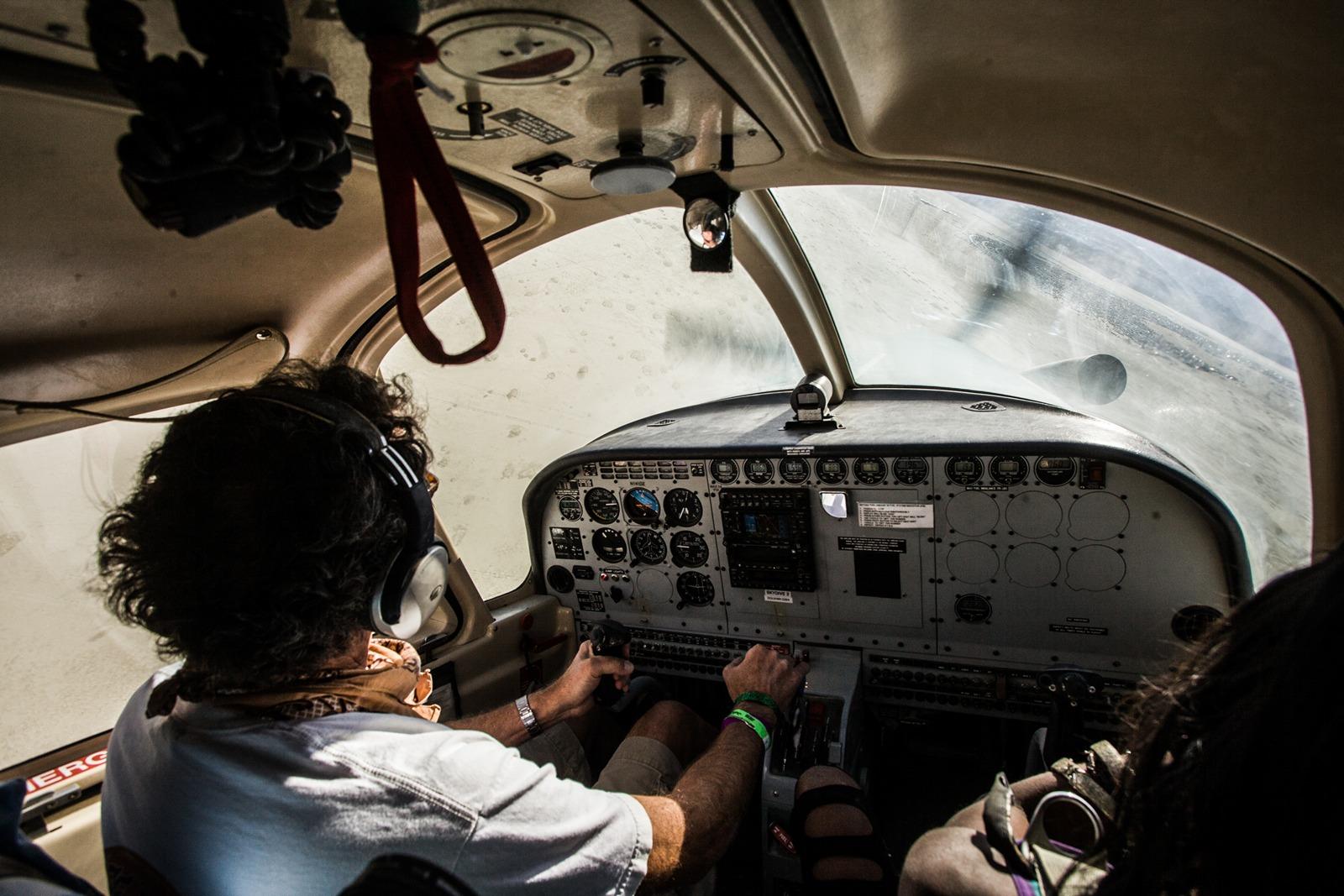 Burning Man - Aircraft pilot