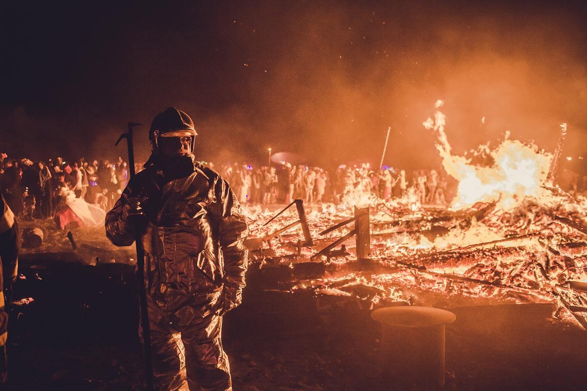 Burning Man - Fireman