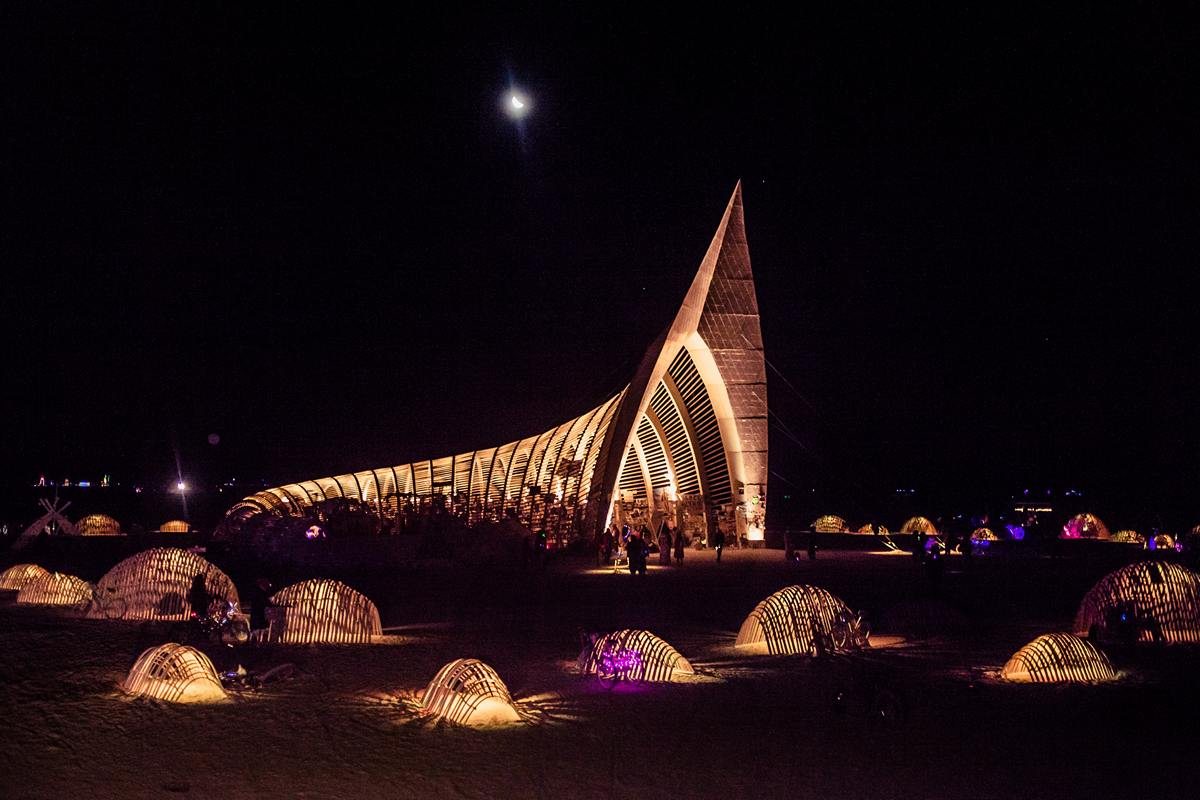 Burning Man - The temple